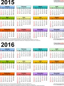 Split calendar